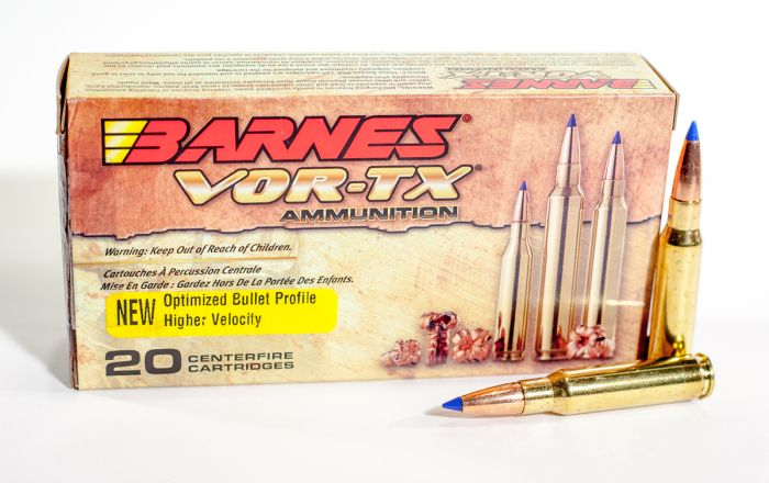 Barnes VOR-TX 308 WIN Tipped TSX BT-Tipped Triple-Shock X Boat Tail 150  Grain 20 Rounds