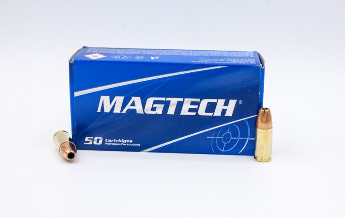 MagTech Sport Shooting 9mm Luger Subsonic JHP-Jacketed Hollow Point 147  Grain 50 Rounds