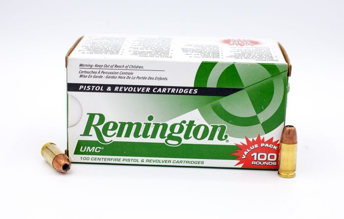 Remington UMC 9mm Luger JHP-Jacketed Hollow Point 115 Grain 100 Rounds
