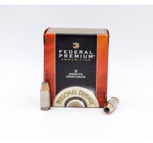 Federal Personal Defense 40 S&W 155gr 20 Rounds