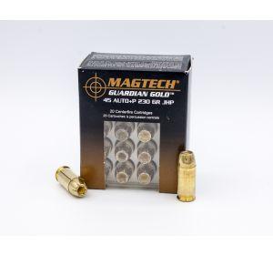 MagTech Guardian Gold 45 Auto+P 230gr 20 Rounds