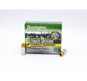 Remington Ultimate Defense 380 Auto 102gr 20 Rounds