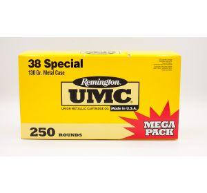 Remington UMC 38 Special 130gr 250 Rounds