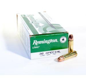 Remington UMC 38 Spl 130gr MC