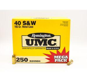 Remington UMC 40 S&W 165gr 250 Rounds