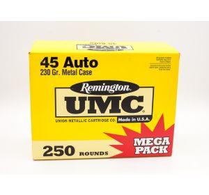 Remington UMC 45 Auto 230gr 250 Rounds