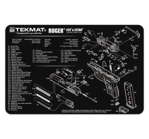 TekMat Springfield Armory XDs flexible cleaning mat