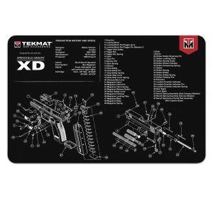 TekMat Ruger LCP gun cleaning mat
