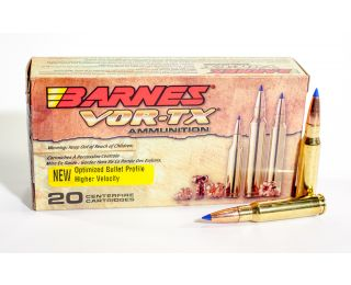 308 Win ammo Barnes VOR-TX 150 grain Tipped TSX BT
