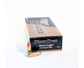 Blazer Brass 9mm-luger 115gr FMJ