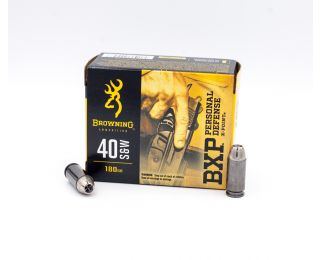 Browning BXP Personal Defense 40 S&W 180gr 20 Rounds