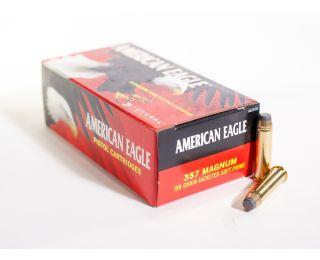 Federal American Eagle 357-mag 158gr JSP