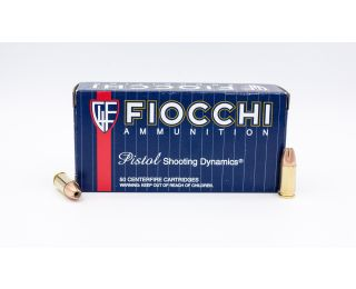 Fiocchi Pistol Shooting Dynamics 9mm Luger 147gr 50 Rounds
