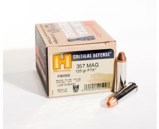 Hornady Critical Defense 357-mag 125gr FTX