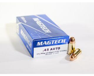 45 ACP ammo MagTech 230 grain FMJ