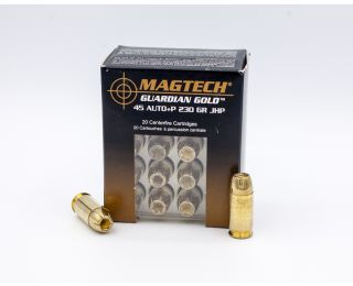 MagTech Guardian Gold 45 Auto+P 230gr 20 Rounds