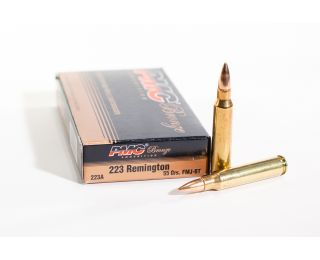 PMC 223 Rem ammo Bronze 55 grain FMJ-BT-20 rounds