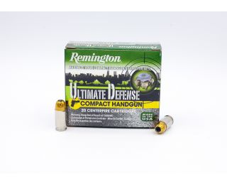 Remington Ultimate Defense 380 Auto 102gr 20 Rounds