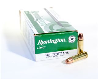 Remington UMC 38 Spl 130gr MC