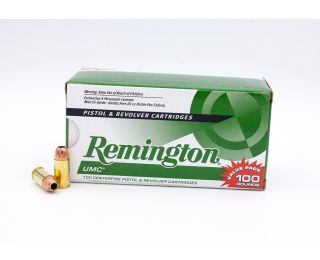 Remington UMC 380 Auto 88gr 100 Rounds
