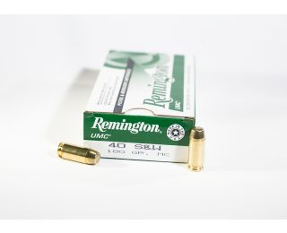Remington UMC 40 SW 180gr MC