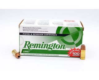 Remington UMC 9mm Luger 115gr 100 Rounds