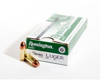 Remington UMC 9mm Luger 115gr MC bulk ammo