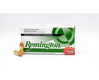 Remington UMC Value Pack 9mm Luger FMJ-Full Metal Jacket 115 Grain 100 Rounds