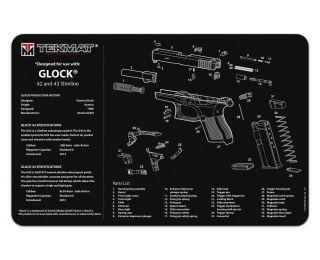 TekMat Glock Cleaning Mat - 17-GLOCK
