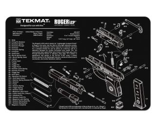 TekMat Glock 42 and 43 Slimline Gun Cleaning Mat