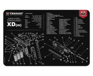 TekMat Springfield XD cleaning mat