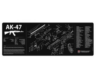 TekMat AR-10 in Black - 36-AR10