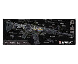 TekMat AR-15 Black 3D Cutaway