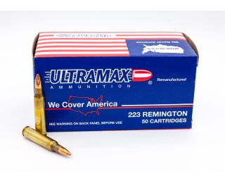 Ultramax Remanufactured 223 Remington 62gr 50 Rounds