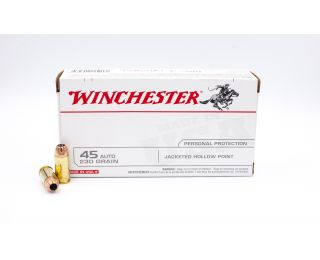 Winchester Personal Protection 45 Auto 230gr 50 Rounds