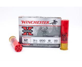 Winchester Super-X 00 Buckshot Shot 3-1/2